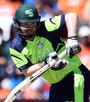 New role: Paul Stirling will bat at No.6 in the series against Afghanistan