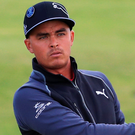 Chasing gold: Rickie Fowler