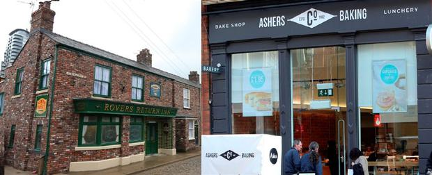 Characters on Coronation Street had a discussion about the Ashers same-sex cake row