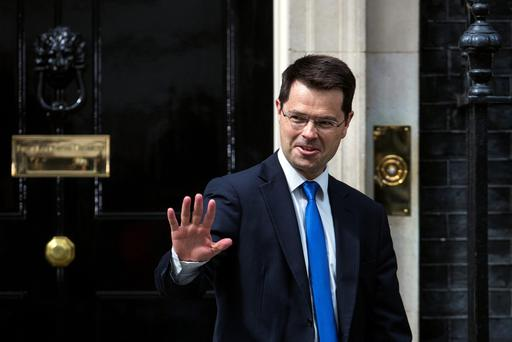 James Brokenshire leaves after meeting Prime Minister Theresa May where he was appointed the position of Secretary of State for Northern Ireland, at Downing Street on July 14, 2016 in London, England. (Photo by Carl Court/Getty Images)