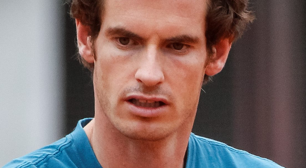 Helping out: Andy Murray has arrived in Serbia to aid the Davis Cup team