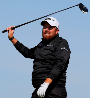 Out of sorts: Shane Lowry said he has never felt as lonely on a golf course as he did during his nightmare opening round of 78 at Royal Troon
