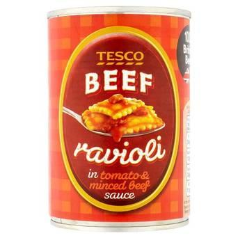 Tesco beef ravioli 400g is recalled