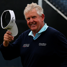 Future plans: Colin Montgomerie doesn't want to say goodbye to the Open