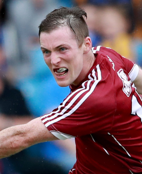 Big influence: Danny Cummins epitomised Galway's authority