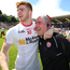Cathal McShane and Mickey Harte