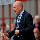Frustrated: Mark Warburton is less than impressed with the Betfred Cup
