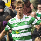 Promising start: New boy Kristoffer Ajer impressed for Celtic against Wolfsburg at the weekend
