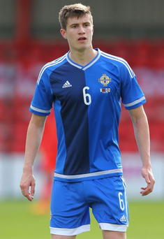 Big success: Northern Ireland's Paddy McNair played at the Foyle Cup