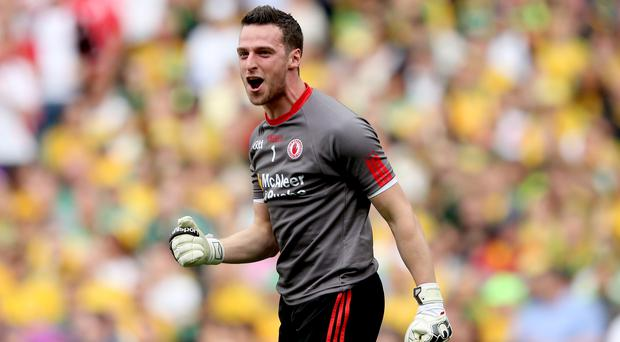 Tyrone keeper Niall Morgan