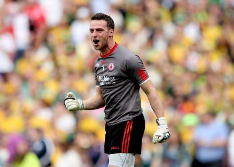 Team player: Niall Morgan believes Tyrone have bonded extremely well