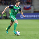 Making strides: Paddy McNair in action at the Euro 2016 finals