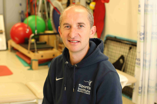 Healing hands: Dr Phil Glasgow has a crucial role in the Team GB set-up at the Rio Olympics