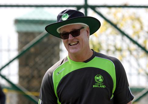 Future bright: John Bracewell believes in Ireland's youngsters