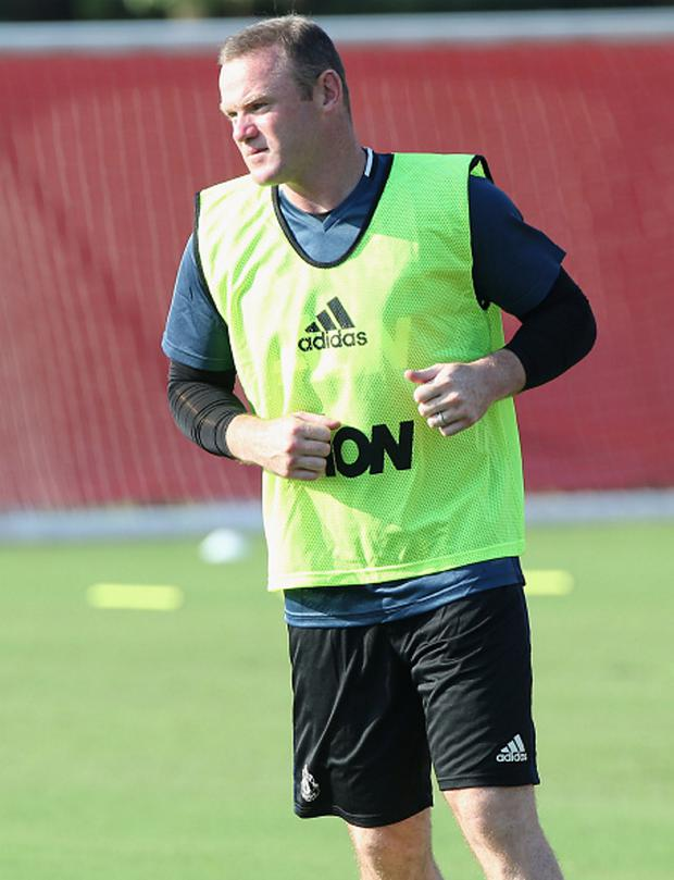 Feeling optimistic: Wayne Rooney