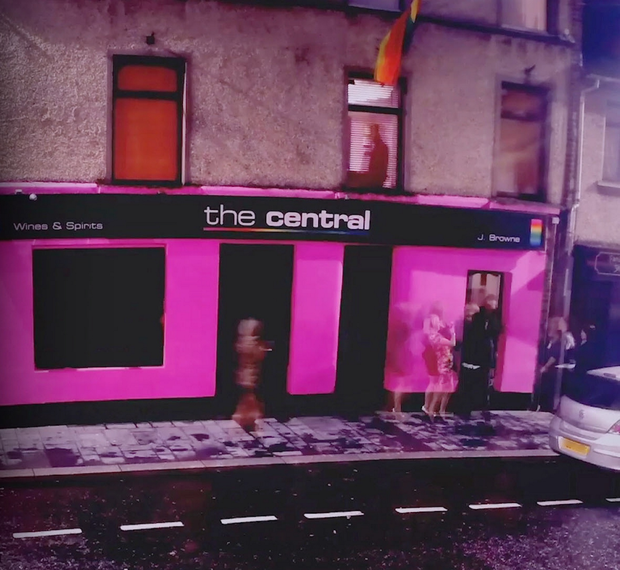 The Central bar in Strabane