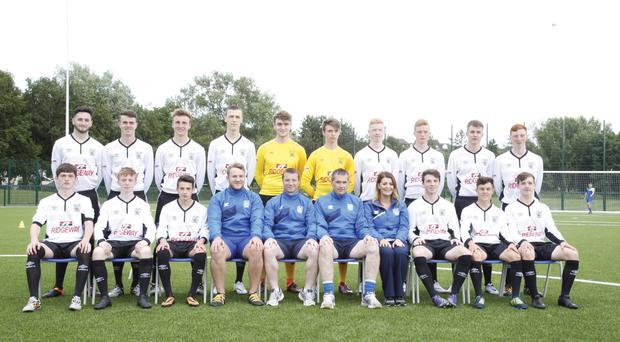 Luck of the draw: The County Down Premier squad who will face Lusaka, Co Armagh and MS Select next week