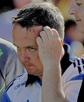 Tough week: Clare's Davy Fitzgerald