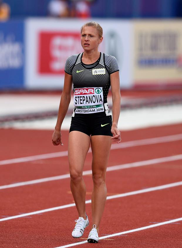No go: Yuliya Stepanova has been banned from the Games by the IOC despite getting the nod from the IAAF