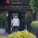 Ross Hussey MLA leaving Ramada