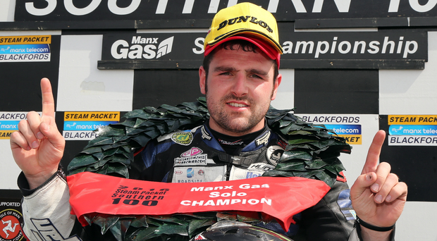 Late entrant: Michael Dunlop will be at the Armoy Road Race