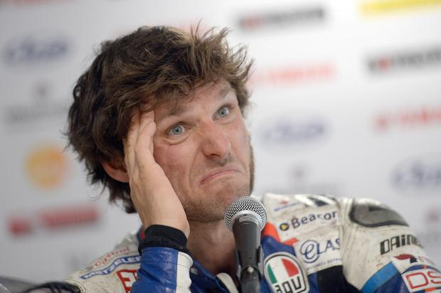 Uncertain future: Guy Martin's next move is unclear