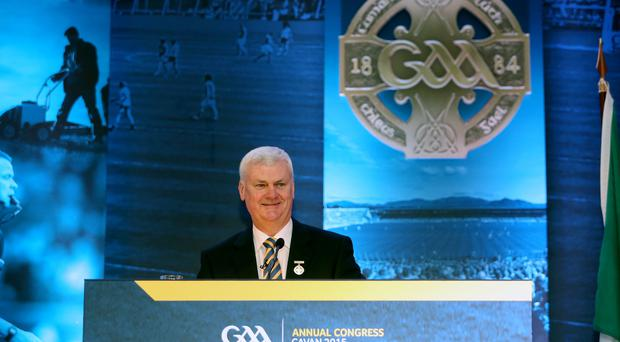 Announcement: GAA President Aogan O'Fearghail believes a new £5.2m annual payment acknowledges the players' key role in the success of Gaelic Games