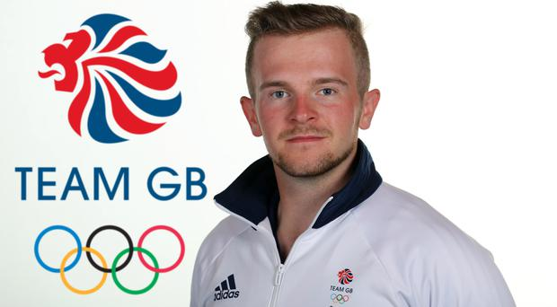 Aiming high: Ulsterman Patrick Huston will be the first member of Team GB in action at the Rio Olympics and he intends to bring home a medal
