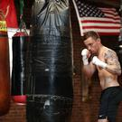 Carl Frampton pictured training at Champs Gym in New Rochelle, USA ahead of his WBA featherweight title fight against Leo Santa Cruz at the Barclay Centre, Brooklyn, New York on Saturday night. Press Eye - Belfast - Northern Ireland - 26th July 2016 - Photo by William Cherry