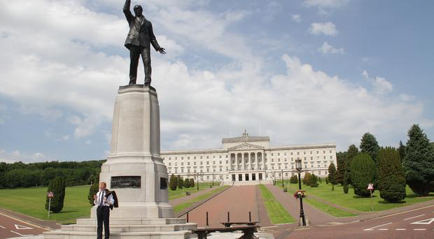 Christopher Woodhouse at Stormont