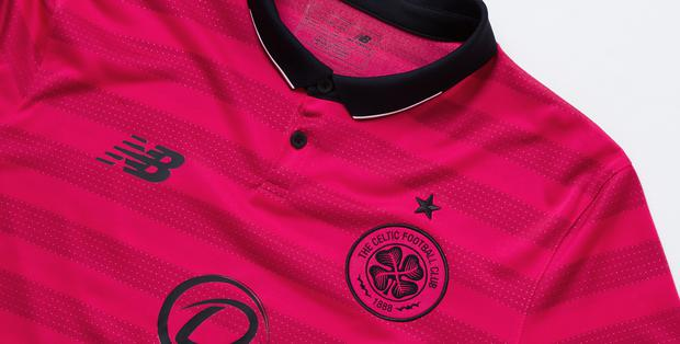 Celtic's new third strip.