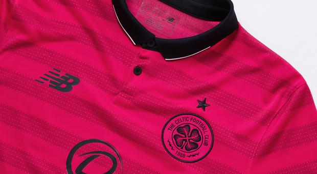 ac23df0b8 Celtic unveil pink  Lisbon Lions  inspired third kit to honour ...