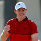 Making the grade: Rory McIlroy wants a late tee time on Sunday