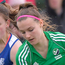 On the mark: Jessica McMaster scored in Ireland U18's comeback win