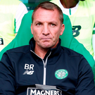 Decisions: Brendan Rodgers has just two fit central defenders available