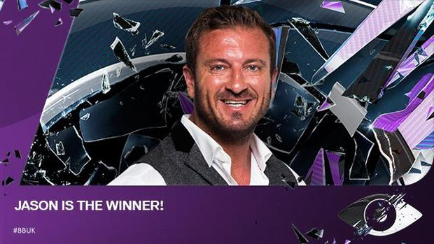 Jason Burrill has won Big Brother 2016. Image: @bbuk/Twitter