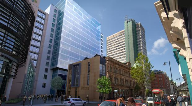 What the new development at Ewarts could look like