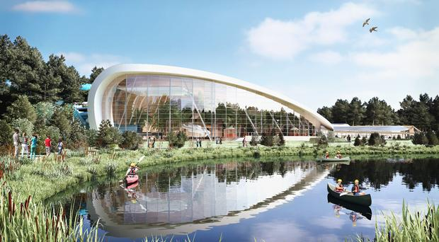 Artist's impression of the Subtropical Swimming Paradise