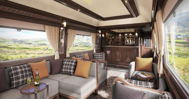 Antrim firm Mivan was awarded the £2.5m contract to fit out Ireland's first luxury sleeper train, Belmond Grand Hibernian