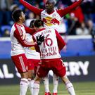 Brad all over: Red Bull clearly gives Bradley Wright-Phillips wings