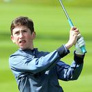 Out of the blue: Tom McKibbin admits he was shocked to receive an invite to play in the Northern Ireland Open
