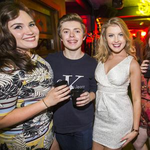 People out at Villa for Fat Wednesdays. 27th July 2016. Picture by Liam McBurney/RAZORPIX