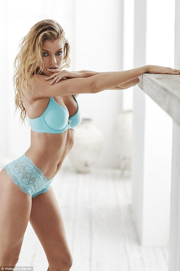 Stella Maxwell for the new Victoria's Secret campaign. Pic Victoria Secret