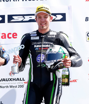 In the groove: Peter Hickman heads to Ulster Grand Prix in confident mood