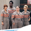 High spirits: Ghostbusters cast members (from left) Kristen Wiig, Leslie Jones, Melissa McCarthy and Kate McKinnon