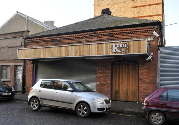 The former Rain nightclub in Belfast. Pic Pacemaker