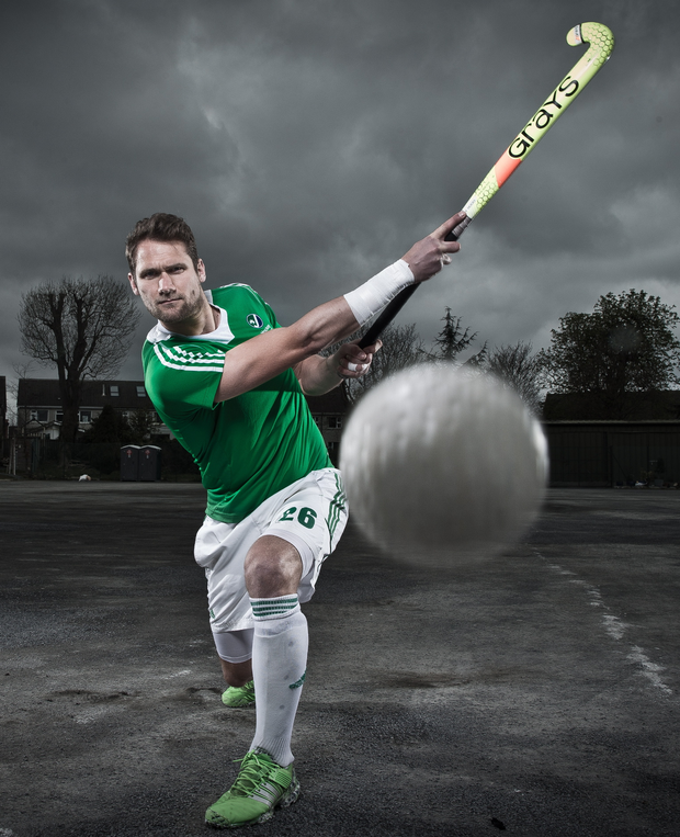Big hitter: Paul Gleghorne and his teammates hope to help Ireland make their mark in Rio
