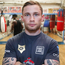 Ready to rock: Carl Frampton means business at his base in America