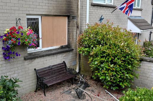 Alan Lewis - PhotopressBelfast.co.uk 30/7/2016 Mandatory Credit - Picture by Justin Kernoghan A man and woman have escaped injury in a petrol bomb attack in County Armagh.It happened at about 03:15 BST on Saturday at a house in Austin Drive, Tandragee.The petrol bomb was thrown at the front of the house and fire fighters were called to put out the blaze.A man in his 30s and a woman in her 20s who were in the house at the time escaped injury. The kitchen in the house was smoke damaged.Police are working to establish a motive for the attack. They have appealed for witnesses.