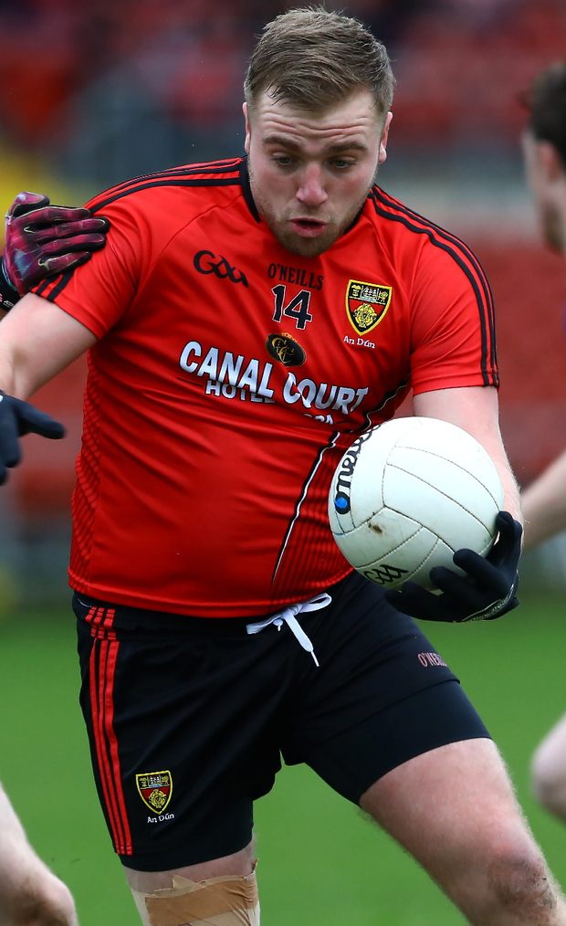 Magic: Arthur McConville showed his class for Clonduff